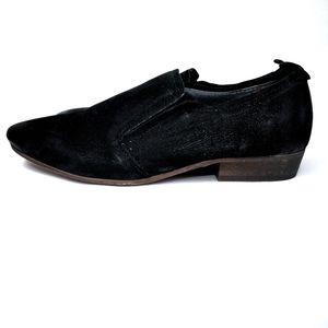 NEW! Seychelles ankle booties distressed black siz